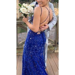 customized jovani prom dress